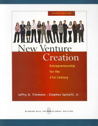 NewVentureCreation:Entrepreneurshipforthe21stCentury.[JeffryA.Timmons]