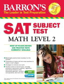 Barron's SAT Subject Test: Math Level 2 , 12th Edition [With CDROM]