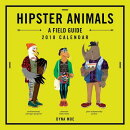 Hipster Animals 2018 Wall Calendar
