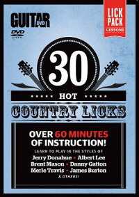 GuitarWorld--30HotCountryLicks:Over60MinutesofInstruction!,DVD[AlfredPublishing]