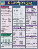 English as a Second Language: Verbs Laminate Reference Chart