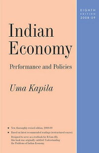 IndianEconomy:PerformanceandPolicies