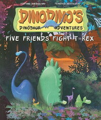 Five_Friends_Fight_T-Rex