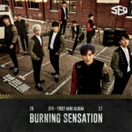 【輸入盤】1stMiniAlbum:BURNINGSENSATION[SF9]