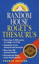 ROGET'S THESAURUS 4/E(A)
