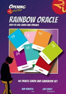Opening2intuition Rainbow Oracle: 40 Oracle Cards and Guidebook Set