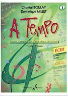 【輸入楽譜】BOULAY,Chantal&MILLET,Dominique:ATempo-第4巻:SerieEcrit[BOULAY,Chantal&MILLET,Dominique]