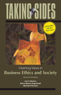 TakingSides:ClashingViewsinBusinessEthicsandSociety,Expanded[LisaNewton]