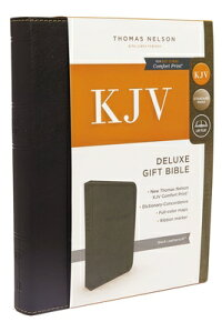 KJV,DeluxeGiftBible,ImitationLeather,Black,RedLetterEdition[ThomasNelson]