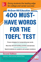 400 MUST-HAVE WORDS FOR THE TOEFL 2/E(P)