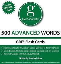 500AdvancedWords:ManhattanGREVocabularyFlashCards