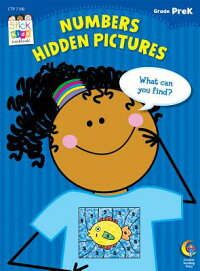 Numbers:HiddenPicturesStickKidsSuccessSkillBooks