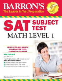 Barron'sSATSubjectTest:MathLevel1,6thEdition[IRAK.WolfPH.D.]