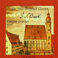 【輸入盤】Well-temperedClavier:Crochet(P)[バッハ(1685-1750)]