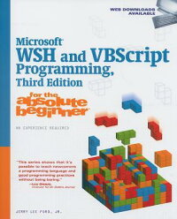 Microsoft_WSH_and_VBScript_Pro