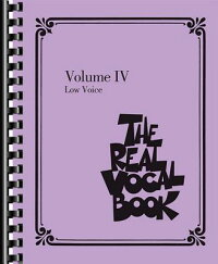 TheRealVocalBook-VolumeIV:LowVoice[HalLeonardPublishingCorporation]