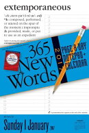 365 New Words Notepad + Calendar