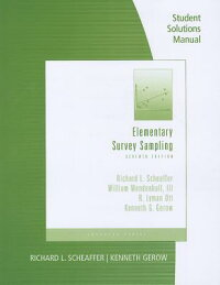 ElementarySurveySamplingStudentSolutionsManual