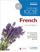 Cambridge Igcsea French Student Book 2nd Ed