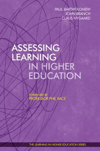 AssessingLearninginHigherEducation[ClausNygaard]
