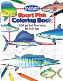 Sport Fish Coloring Book