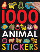 1000 ANIMAL STICKERS(P)