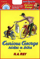 CURIOUS GEORGE RIDES A BIKE(P W/CD)