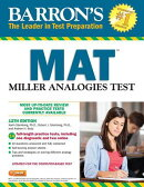 Barron's Mat, 12th Edition: Miller Analogies Test