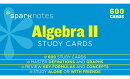 Algebra II Sparknotes Study Cards