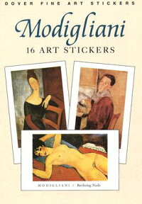 MODIGLIANI:_16_ART_STICKERS