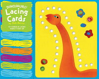 Dinosaurs!_Lacing_Cards_With