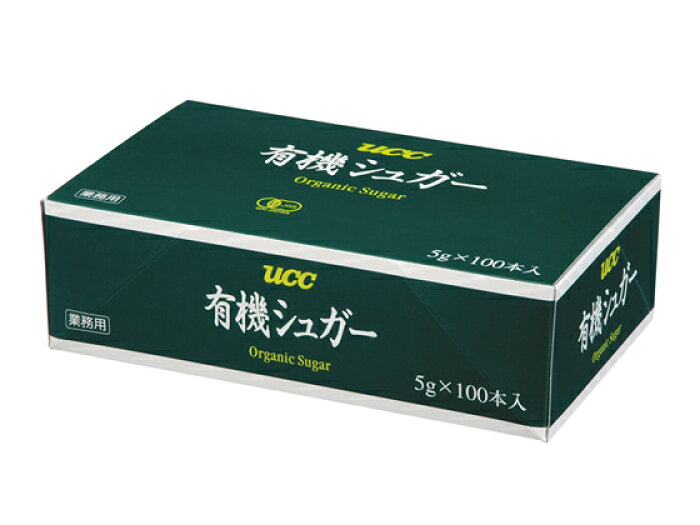 UCC/有機シュガー5gx100p/460060