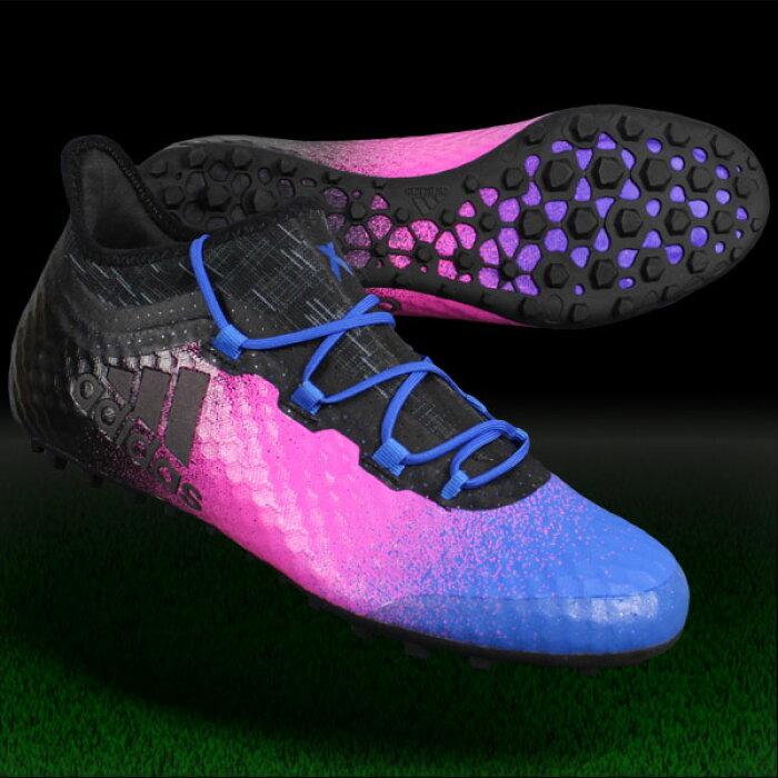 エックス タンゴ 16.1 TF ショックピンクS16×コアブラック 【adidas|アディダス】フットサルシューズba9468