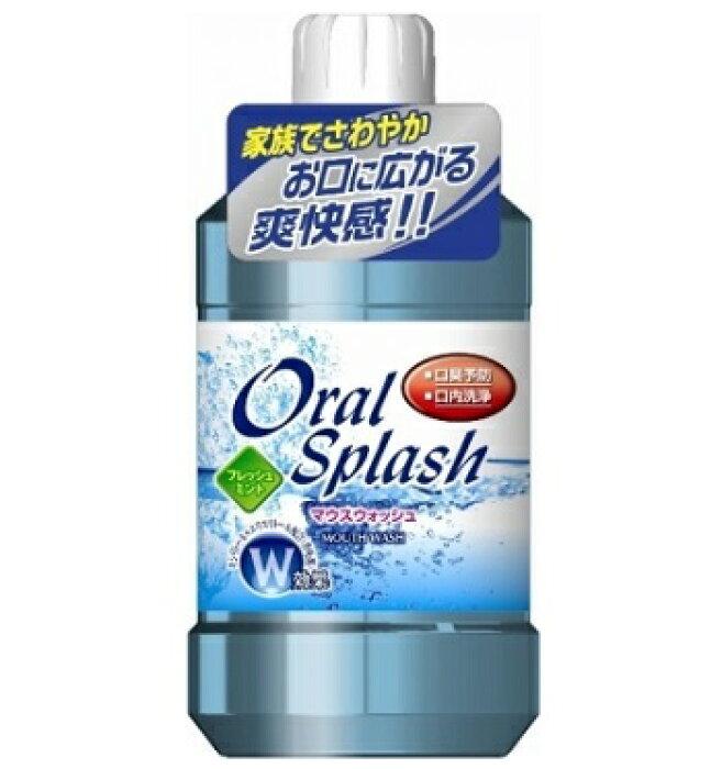 <br>OralSplash オーラルスプラッシュ フレッシュミント(500mL)/ ロケット石鹸