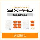 【新発売】【定期購入】シックスパッド アブズ2&ツインボディ2セット用高電導ジェルシート