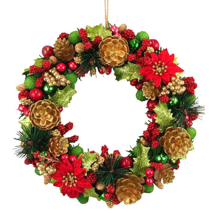 クリスマスリース 玄関