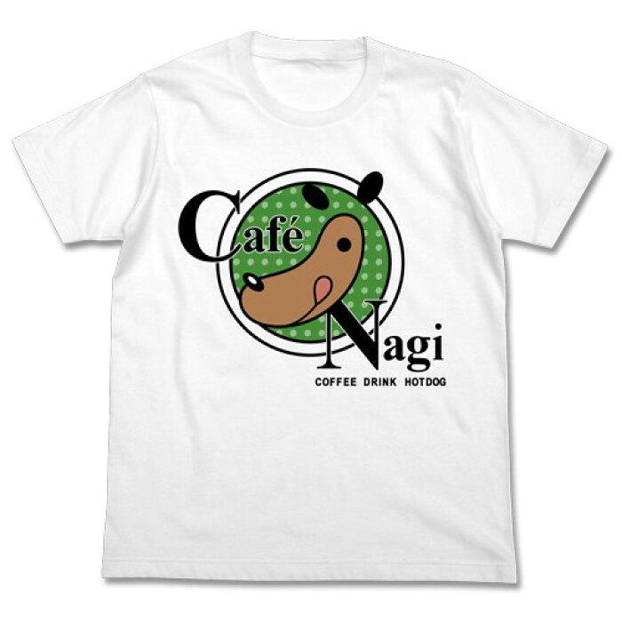 【送料無料対象商品】コスパ 遊☆戯☆王VRAINS Café Nagiロゴ Tシャツ WHITE【ネコポス/DM便対応】【9月発売予定 予約商品】