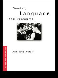 Gender,LanguageandDiscourse