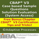 CBAP V3 Case study based question - Solution Evaluation - 1