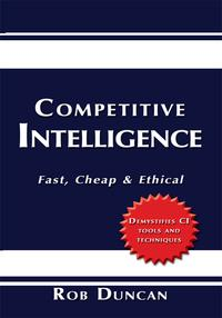 CompetitiveIntelligenceFast,Cheap&Ethical