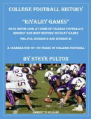 "College Football History ""Rivalry Games"""