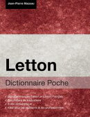 Dictionnaire Poche Letton