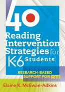 "40 Reading Intervention Strategies for Kâ?""6 Students"