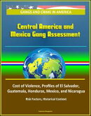 Gangs and Crime in America: Central America and Mexico Gang Assessment, Cost of Violence, Profiles of El Salvador, Guatemala, Honduras, Mexico, and Nicaragua, Risk Factors, Historical Context