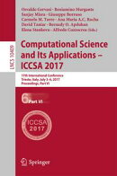 Computational Science and Its Applications ? ICCSA 2017