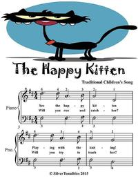 TheHappyKitten-EasiestPianoSheetMusicJuniorEdition