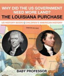 Why Did the US Government Need More Land? The Louisiana Purchase - US History Books | Children's American History