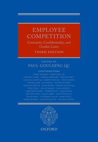 EmployeeCompetitionCovenants,Confidentiality,andGardenLeave