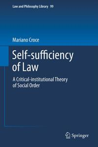 Self-sufficiencyofLawACritical-institutionalTheoryofSocialOrder