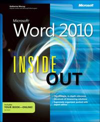 MicrosoftWord2010InsideOut